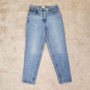 Vintage AT Ann Taylor Slim High Waist Mom Jeans